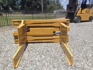 Feed Store Hay Bale Clamp is also great for loading pallet sized bales into Sea Land containers